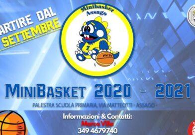Minibasket: dal 28 settembre si torna in campo!
