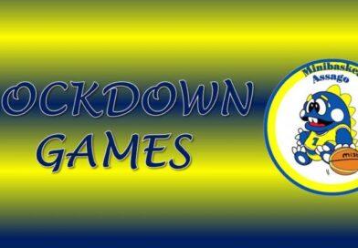 "Settore Minibasket: arrivano i ""Lockdown Games"""